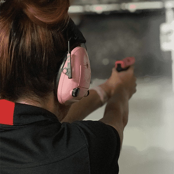 Shooting at the Range Nevada CCW Firearms Training